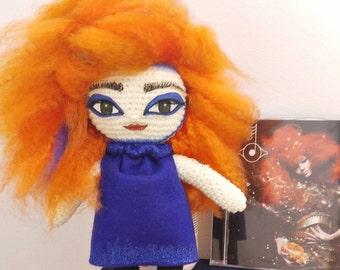 Björk Doll by MerviaArt Biophilia inspired