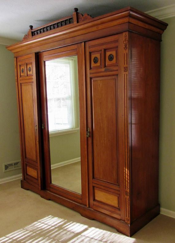 C1880s Victorian Eastlake Knock Down Storage Closet Cabinet | Etsy