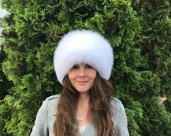 b71cbb301 Russian fur hat | Etsy