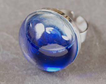 Glass Dome Adjustable ring