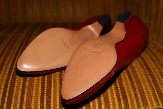 Sesto Meucci 90s Women Shoes Vintage 1990s Coutur… - image 6