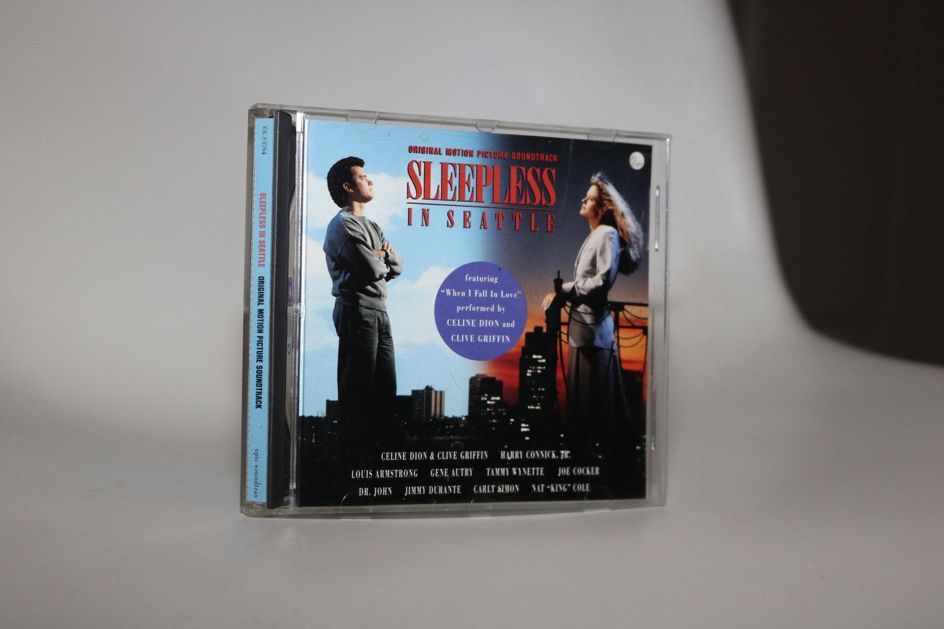 Sleepless In Seattle 1993 Cd Original Film Soundtrack 1990s Etsy