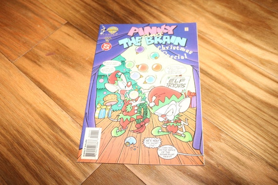 Pinky And The Brain Christmas.Pinky And The Brain Christmas Special 1 1996 Comic Book Cartoon Network Japanese Anime Cosplay Cavanaugh Candi Milo Allison Moore
