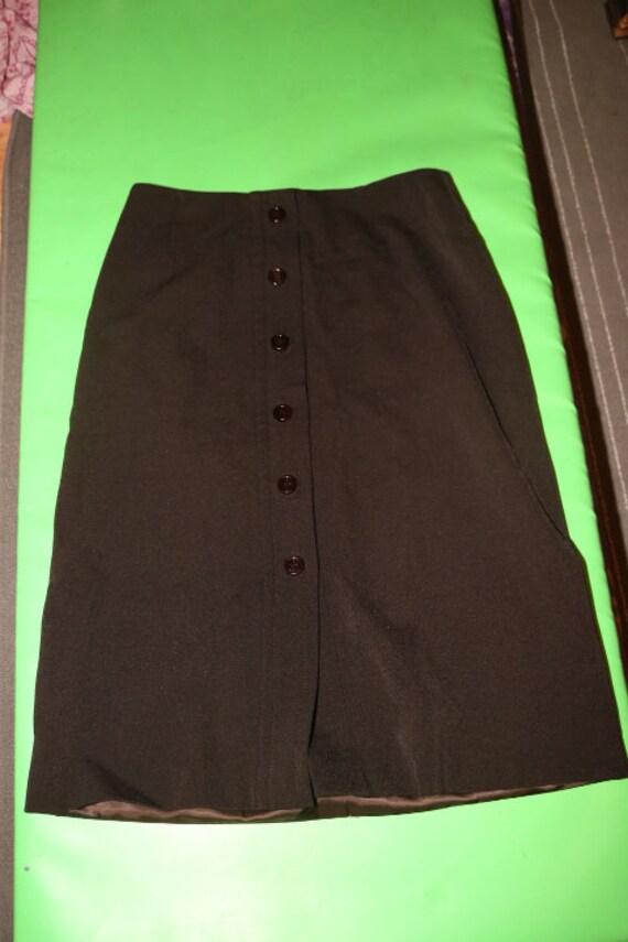 PRADA Skirt Vintage 1990s Women Straight Pencil C… - image 6