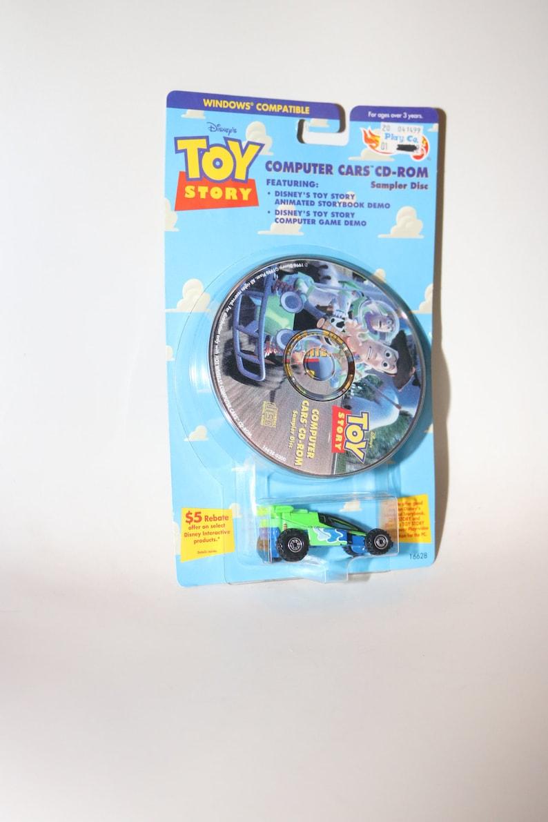 Wheels Ordinateur Jouet 1996 Années Hot Disney Rom Voiture Film Vintage Des L'éclair Toy Cd Histoire Woody Buzz 1990 Story SUzGLqVpM
