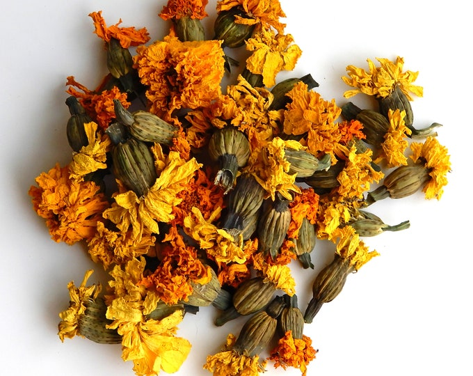 Mexican Marigold dried flowers
