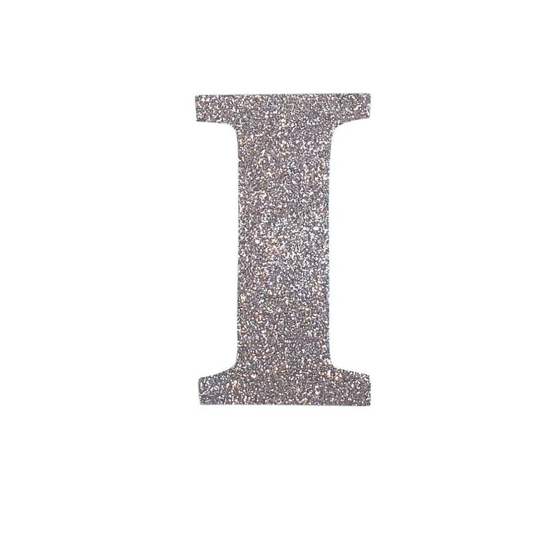 Glitter Stick on 5cm Tall LettersAdhesive Glitter LettersGold Silver Copper Black White GlitterGlitter Wedding Stick On Signage Letters