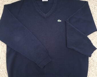 2196db5a9c4 Pull Lacoste Vintage