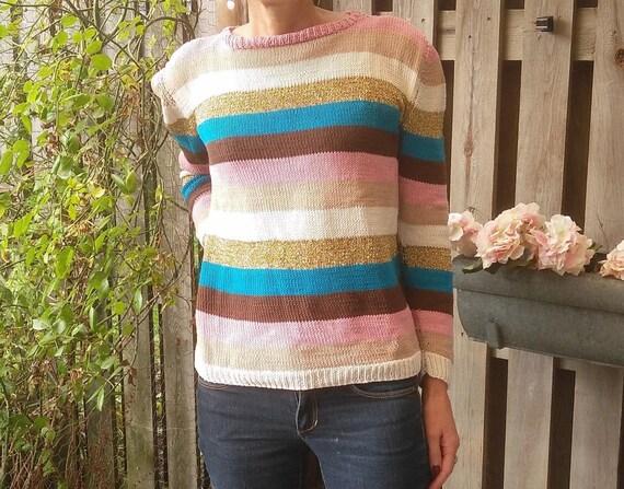 DIY Strickmuster für Pullover mit Streifen zwei verschiedene | Etsy