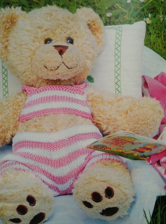 DIY stricken Bikini oder Badehose für bauen ein Bär oder Teddy | Etsy