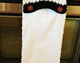Modern Crochet Towel Topper Pattern