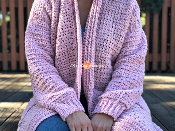 adcabcd5697a7 Hygge Homebody Crochet Cardigan Pattern Only