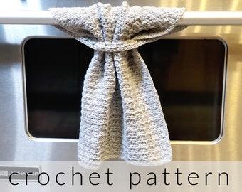 Crochet Pattern Kitchen Towel   Buco Kitchen Towel Crochet Pattern   Hanging Kitchen Towel   Crochet Dishcloth   Crochet Hand Towel Pattern