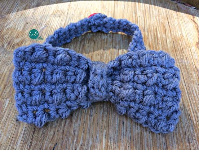 Crochet Bow Tie Pattern Only Etsy