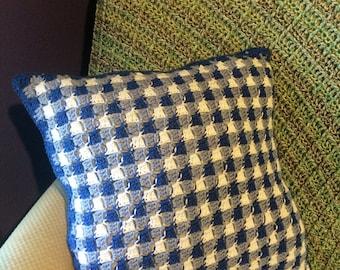 Crochet Gingham Pillow Graph Chart