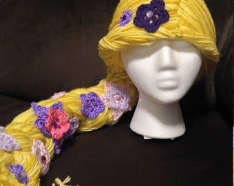 5cd7045e437 Rapunzel inspired hat