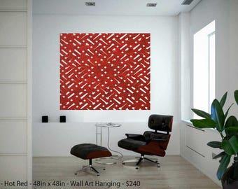 Laser Cut Designer Felt Panels and Dividers: Interior Room Divider, Modern Hanging Panel, Wall Art, for Home+Office, Design- Links