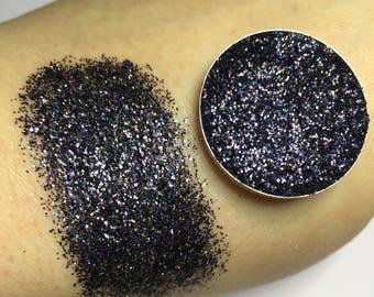 Pressed Glitter Eyeshadow Blackout - MAKEUP