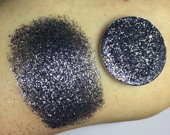 Pressed Glitter Eyeshadow Charcoal - MAKEUP