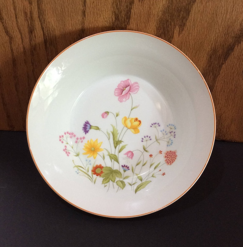 81afb7993 Mikasa China Vintage Floral Bowl Porcelain Fine China Japan