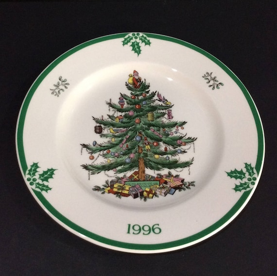image 0 - Spode Christmas Tree Plate 1996 Collectible Spode Plate Etsy