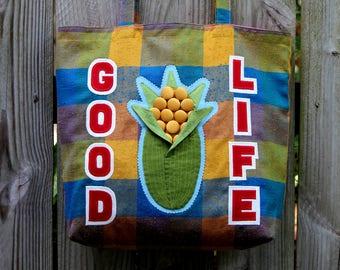 Good Life Nebraska Tote Bag