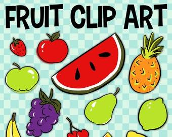 Fruit Clip Art, Banana Clip Art, Food Group Art, Pineapple Clipart, School Fruit, Red Apple Clip Art, Food Pyramid, Classroom Clipart