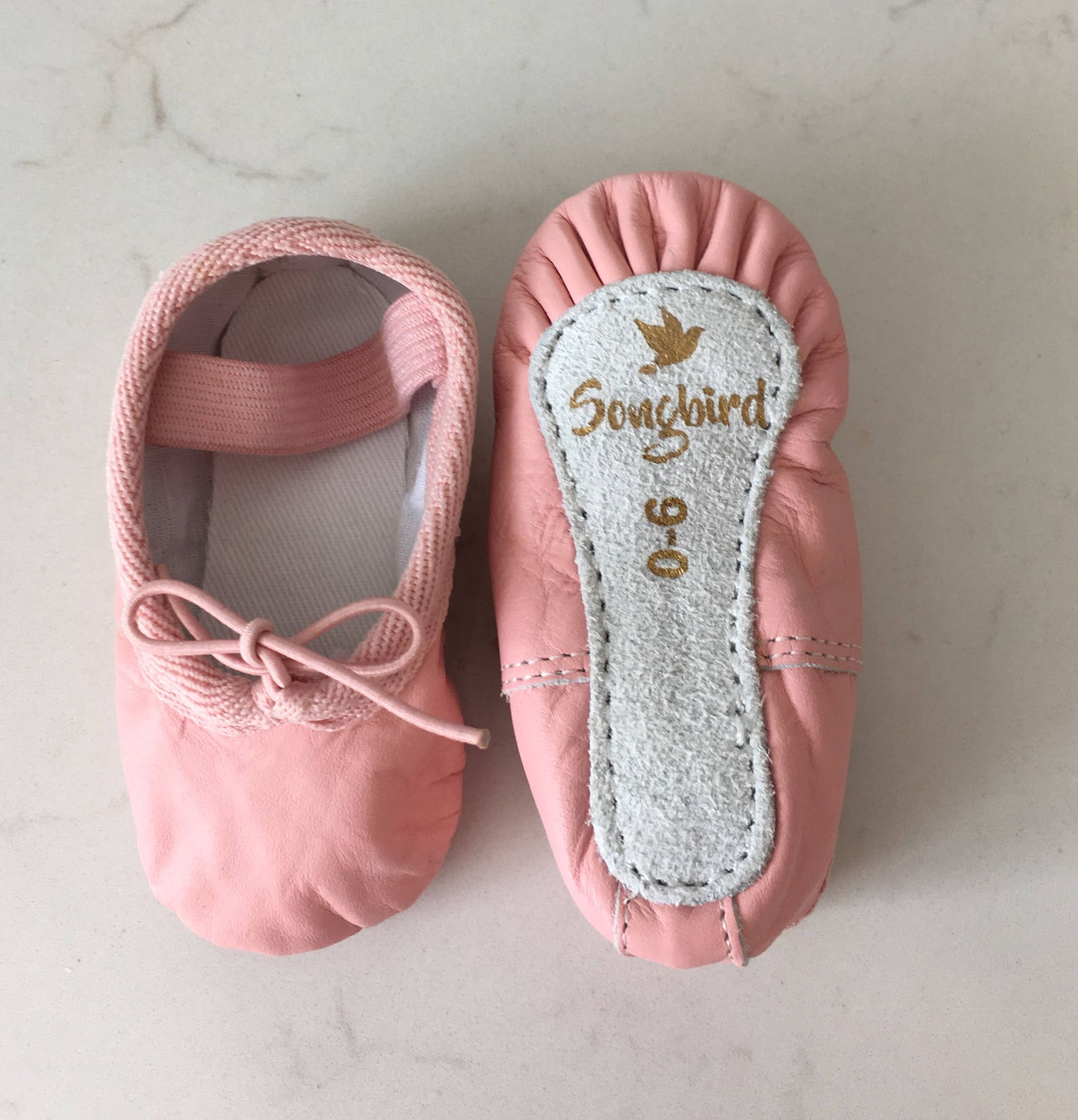 baby ballet slippers pink genuine leather dance shoes for babies toddler ballet shoes ballerina 1st birthday party cake smash ou