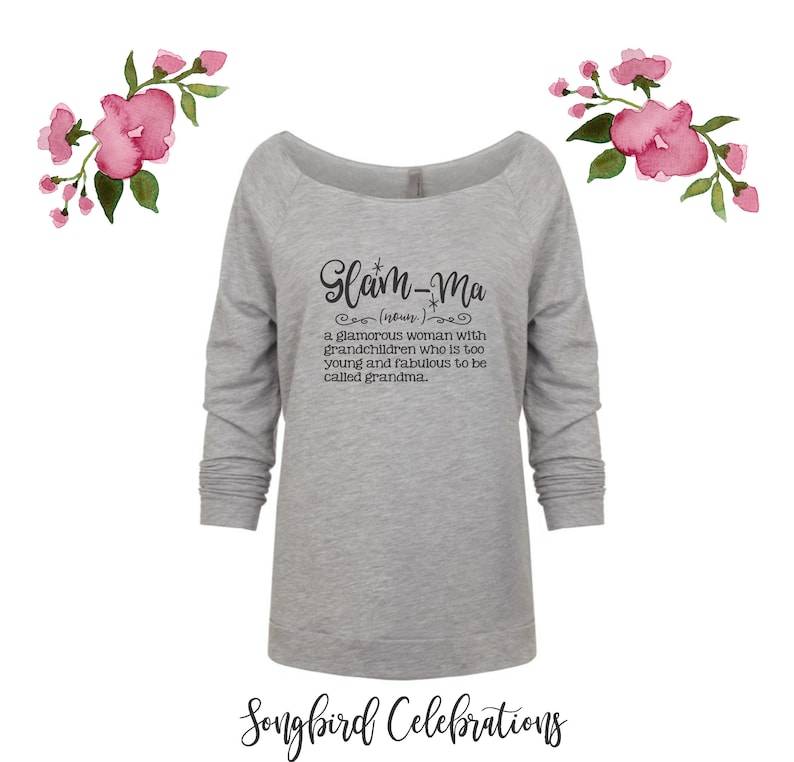 Glam-ma Definition Shirt Funny Grandma Shirt Mother in Law Christmas Gift Fun Gift for Grandma Gift for Her Mom Mothers Day Glam Grandma