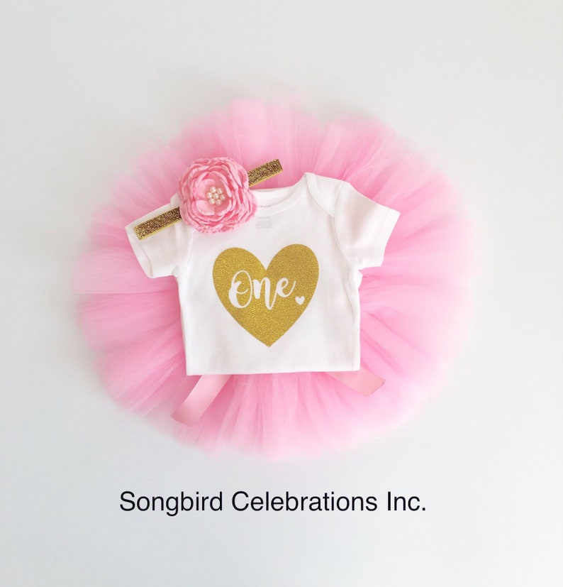 37f1dc199 1st Birthday Outfit Girl One Tutu Outfit First Birthday Girl | Etsy