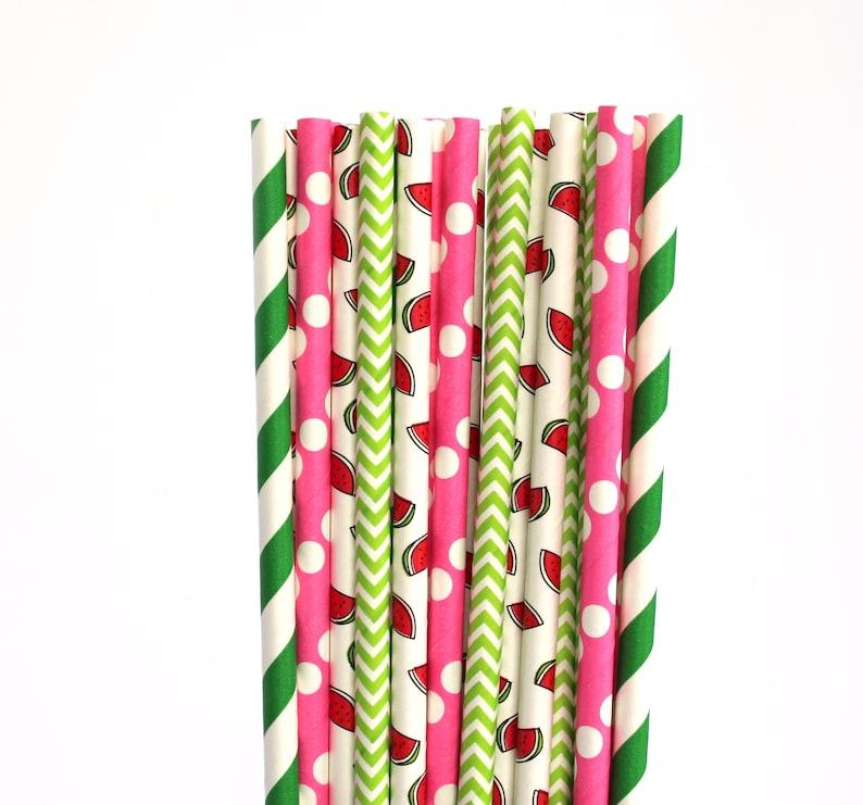 watermelon straws