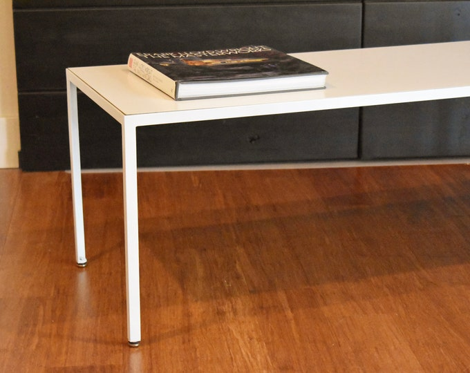 Charles Eames for Herman Miller steel-frame coffee table (model 5150), circa 1950s