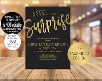 Surprise Birthday Etsy