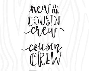 Cousin quotes svg | Etsy