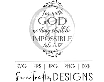 God Is Within Her She Will Not Fail Svg Cut File Christian Etsy