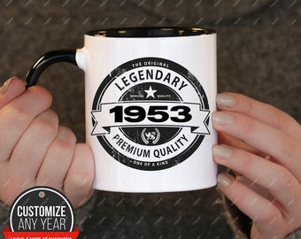 Legendary Since 1953 65th Birthday Gifts For Women Gift Mug Mens