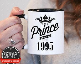 Prince Since 1995 23rd Birthday Gifts For Women Gift Mug Mens