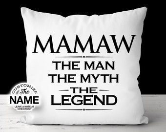 Grandma Gift Mamaw Gift Baby Shower Mamaw Birthday Mamaw Hoodie Mamaw The Woman The Myth The Legend Mother/'s Day Mamaw Gift Idea