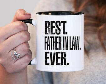 Best Father In Law Ever Gift Birthday Mug Idea Baby Shower Mothers Day
