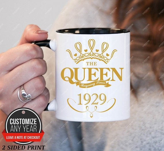 Queen Since 1929 90th Birthday Gifts For Women