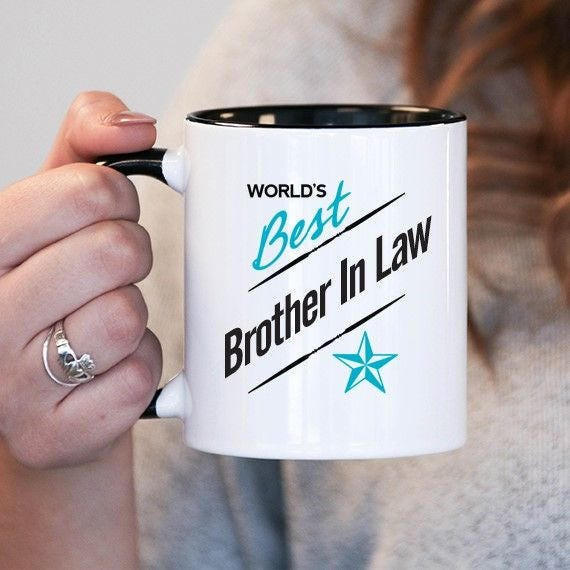 Worlds Best Brother In Law Brother In Law Gift Brother In Law Etsy