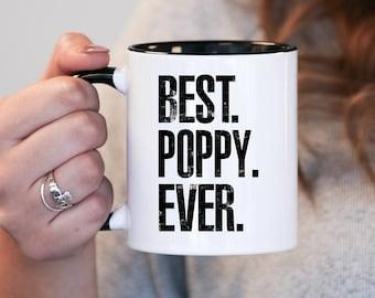 Best Poppy Ever, Poppy Gift, Poppy Birthday, Poppy Mug, Poppy Gift Idea, Baby Shower, Mothers Day, mug gift