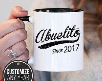 Abuelito Since (Any Year) Abuelito Gift, Abuelito Birthday, Abuelito Mug, Abuelito Gift Idea, Baby Shower,, mug gift