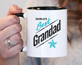 Worlds Best Grandad Grandad Gift, Grandad Birthday, Grandad Mug, Grandad Gift Idea, Baby Shower, Mothers Day, mug gift