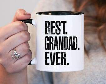 Best Grandad Ever, Grandad Gift, Grandad Birthday, Grandad Mug, Grandad Gift Idea, Baby Shower, Mothers Day, mug gift