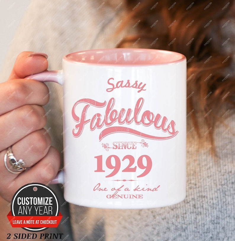 Sassy Fabulous Since 1929 90th Birthday Gifts