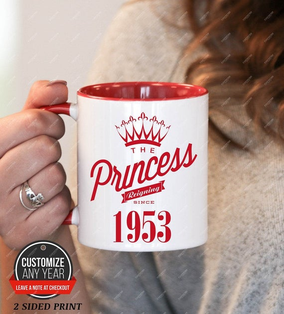 Princess Since 1953 65th Birthday Gifts For