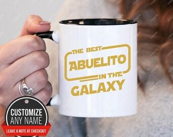 The best Abuelito in the galaxy, Abuelito Gift, Abuelito Birthday, Abuelito Mug, Abuelito Gift Idea, Abuelito Birthday Gift, Fathers Day