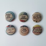 Comic Book Buttons // ANGRY OUTBURSTS!