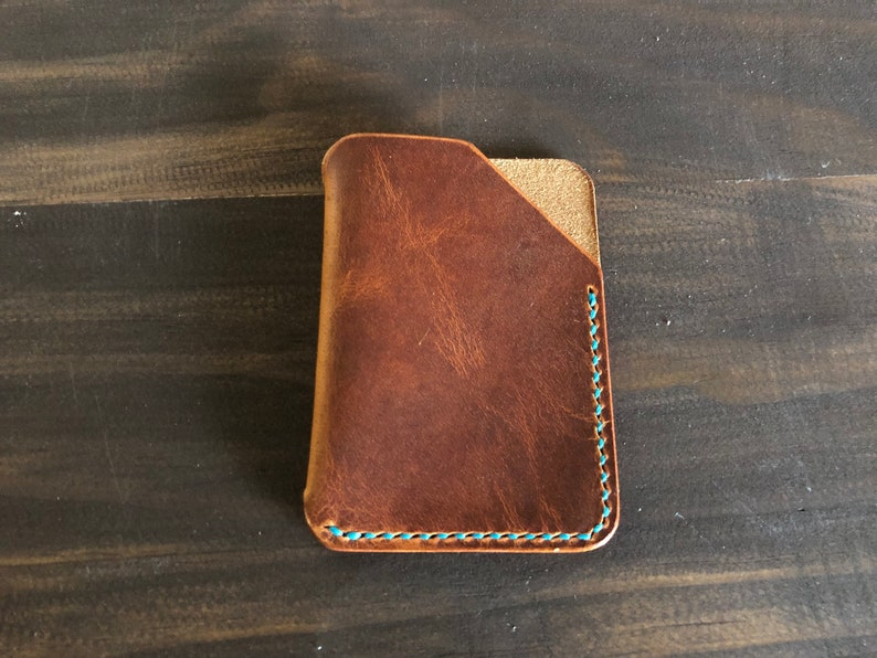 best service a9bb1 8366c Horween Dublin Minimalist Card Case - El Capitan slim card holder in  Horween Dublin Leather